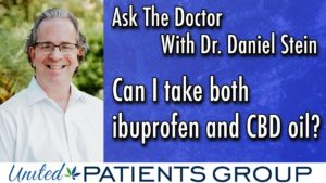 Ask The Doctor: Can I take both Ibuprofen and CBD Oil?
