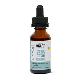 Seriously Relax + Lavender Tincture 25mg /dose (1oz)