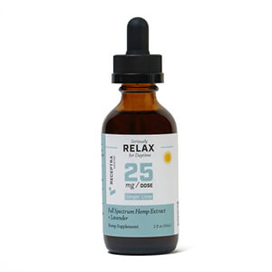 Seriously Relax + Lavender Tincture 25mg /dose (2oz)