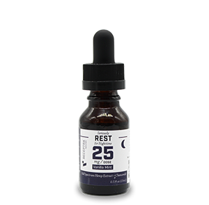 Serious Rest + Chamomile Tincture 25mg /dose (0.5oz)