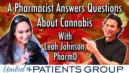 A Pharmacist Answers Questions About Cannabis with Leah Johnson, PharmD